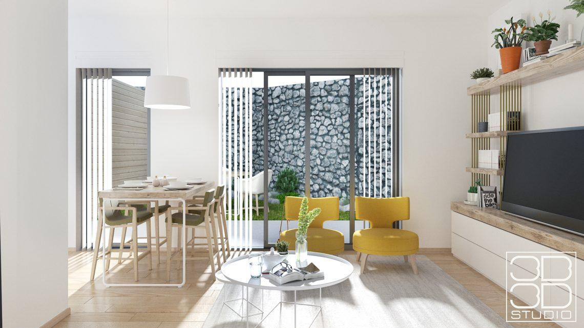 Architectural Concept: Jardin de Prat in La Turbie